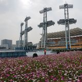 Miastowi kontrasty, Podróżuje Chiny fotografia stock