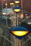 Miastowi oświetleń światła Obrazy Royalty Free
