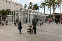 Miastowy światło przy Los Angeles okręgu administracyjnego muzeum sztuki Obrazy Royalty Free