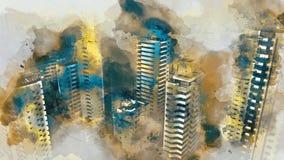 Miastowy royalty ilustracja