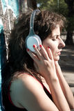 Miastowy audio Fotografia Royalty Free
