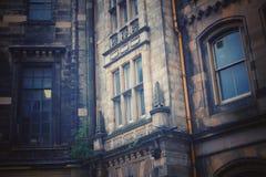 Miastowy bałagan depeszuje dziejowy i starego Zdjęcia Royalty Free