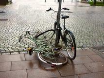 Miastowy bicykl fotografia royalty free