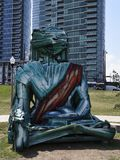Miastowy Buddha obrazy royalty free
