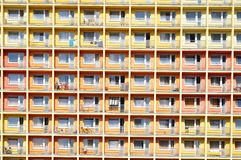 Miastowy budynek, domu wzór Obraz Stock
