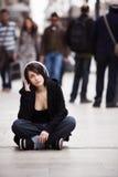 Miastowy dziewczyna portret zdjęcie stock