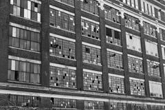 Miastowy Fabryczny zwarzenie - Zaniechana fabryka Fotografia Stock