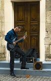 Miastowy gitara solo Obraz Stock