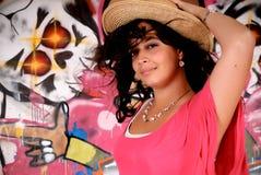 miastowy graffiti nastolatek Zdjęcie Royalty Free