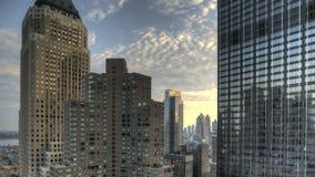 Miastowy jar HDR Timelapse zbiory wideo
