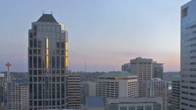 Miastowy jar Seattle zbiory wideo
