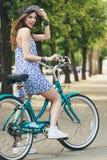 Miastowy jechać na rowerze fotografia stock