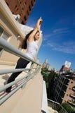 Miastowy joga zdjęcie royalty free