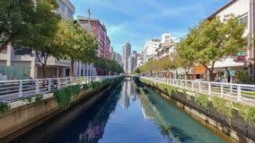 Miastowy kanał obrazy stock