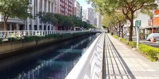 Miastowy kanał obraz stock