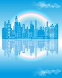 Miastowy krajobraz Obraz Stock