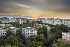 Miastowy krajobraz Obrazy Stock