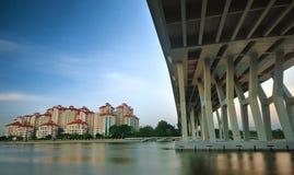 miastowy krajobrazowy Singapore Zdjęcia Stock