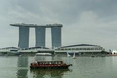 Miastowy krajobrazowy Singapur Zdjęcie Stock
