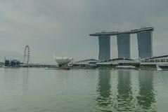 Miastowy krajobrazowy Singapur Zdjęcia Stock