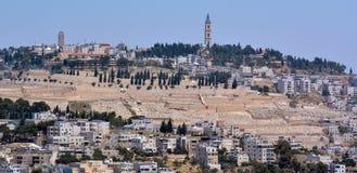 Miastowy krajobrazowy widok Jerozolima, Izrael - Obraz Stock
