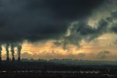 Miastowy miasto Fotografia Royalty Free
