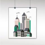 Miastowy mieszkanie ilustracji