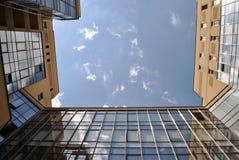 Miastowy niebo Obraz Royalty Free
