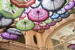 Miastowy parasolowy przejście zdjęcia royalty free