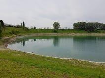 miastowy park w Cernusco zdjęcia stock