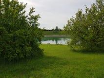 miastowy park w Cernusco obraz stock