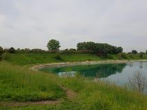 miastowy park w Cernusco obrazy royalty free
