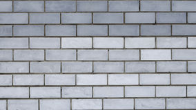 Miastowy popielaty ściana z cegieł Obrazy Stock