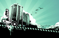 Miastowy projekt Zdjęcie Stock