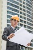 Miastowy przedsiębiorca budowlany Zdjęcia Stock