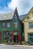Miastowy scenics Tromso, Norwegia Obrazy Stock