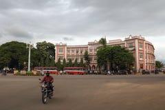 Miastowy styl i cechy Mysore w India Obraz Stock