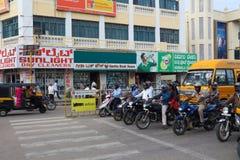 Miastowy styl i cechy Mysore w India Obrazy Stock