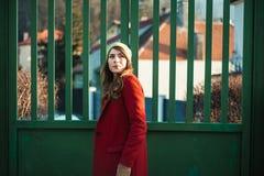 Miastowy styl życia mody portret Fotografia Stock