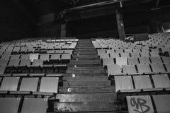 Miastowy teatr porzucający Obraz Stock