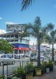 Miastowy widok Pando miasteczko w Urugwaj Zdjęcia Royalty Free