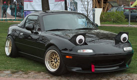 Miata. Isolated Japanese car Mazda MX-5 Royalty Free Stock Image