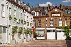 Miaule à Londres. Image libre de droits