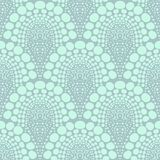Śmiały kropkowany geometryczny wzór w art deco stylu Zdjęcia Stock