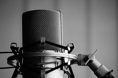 Mic check Stock Images