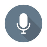 Mic Icon Royalty Free Stock Photos