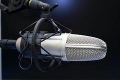 mic-radio Arkivfoton