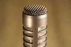 Mic Screen. Small diaphragm microphone screen Stock Images