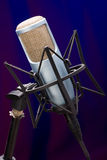Mic on stage 5 Stock Image