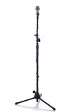 Mic stand full height Royalty Free Stock Image